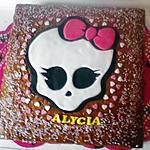 recette Gâteau Monster High