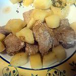 recette Mijoter de porc pomme cannelle
