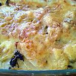 recette gratin de pomme de terre au boudin noir