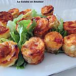 recette Cannelés chorizo et Emmental