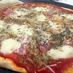 recette Pizza pesto jambon cru mozzarella