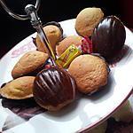 recette Mini madeleines sur coque carambar
