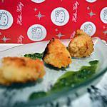 recette noix de saint-jacques panées et son jus de persil chaud