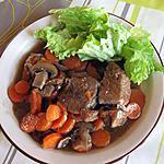 recette Boeuf carottes au bouillon de boeuf