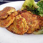 recette Galette de légumes au thon