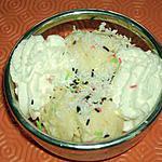 recette glace à la noix de coco