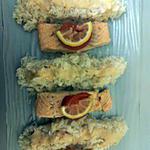 recette Pavé de saumon vapeur et sa sauce au fromage blanc de Dine