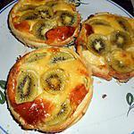 recette Tartelettes aux kiwis