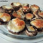 recette Champignons farcis mozzarella