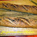 recette Baguettes au son de blé et d'avoine