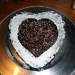 """recette fondant au chocolat pour la ST VALENTIN de CHOUPY """"bonne st valentin """""""