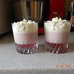 """recette Panna-cotta fraises Tagada ® """" purple """""""
