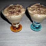 recette verrines mousse chocolat café, mascarpone