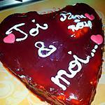 recette Mon Coeur pour mes 2 valentins d'Amour