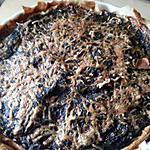 recette Quiche épinards , knackis et fourme d'Ambert
