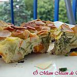 recette FLAN DE LEGUMES AU SURIMI & LAIT D'AMANDE