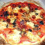 recette Pizza au chorizo