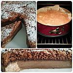 recette Gâteau magique façon brownie: chocolat et noix de pecan