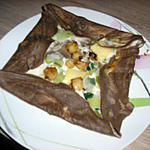 recette galette sarrasin aux saint jacques.