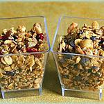recette Granola, muesli, céréales : c'est comme vous voulez !