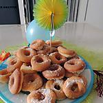 recette Minis donuts