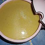 recette Velouté de vert de poireaux