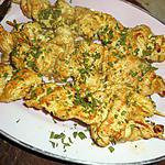recette Brochette de dinde a la thai