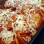 recette Ravioles ricotta porc a la sauce tomate