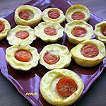 recette mini-tartelette à grignoter