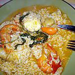recette Ragoût de riz à la lotte(recette portugaise) (arroz de Tamboril)