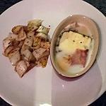 recette oeufs cocotte chèvre jambon sec