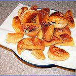 recette Chausson feuilleté au Roquefort