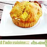 recette Énormes muffins à la pomme