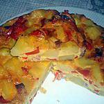 recette tortilla au four de lidye 44,un peu modifiée par campanule