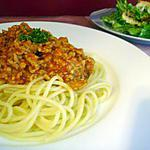 recette ~Spaghettis Bolognaise facile~