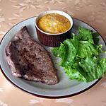 recette Foie de veau et flan de carottes