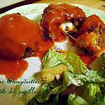 recette ~Pains de viande miniatures au fromage~