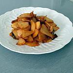 recette Pomme caramélisés à la poêle
