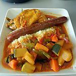 recette Couscous poulet merguez