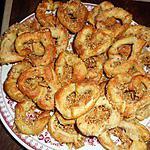 recette Petits bretzels au parmesan et sésame