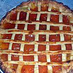recette tarte aux abricots de par chez nous