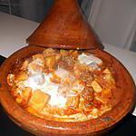 recette Tajine de boulette kefta au oeufs