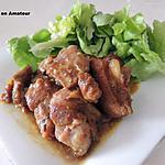 recette Porc au curry