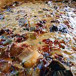 recette Quiche foies de volailles et poireaux
