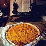 recette Tarte potimarron et chataigne