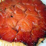 recette tarte   tatin et cassolettes aux oranges confites  sur fond   aux  biscuits  de reims