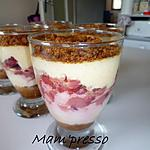 recette Délice de mascarpone aux fraises et spéculos