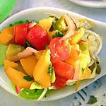 recette Tartare de Thon Rouge aux fruits exotiques et lait de coco