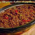 recette ~Simple et délicieux  riz frit au poulet~