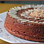 recette La reine de Saba...un délice de chocolat et d'amande.